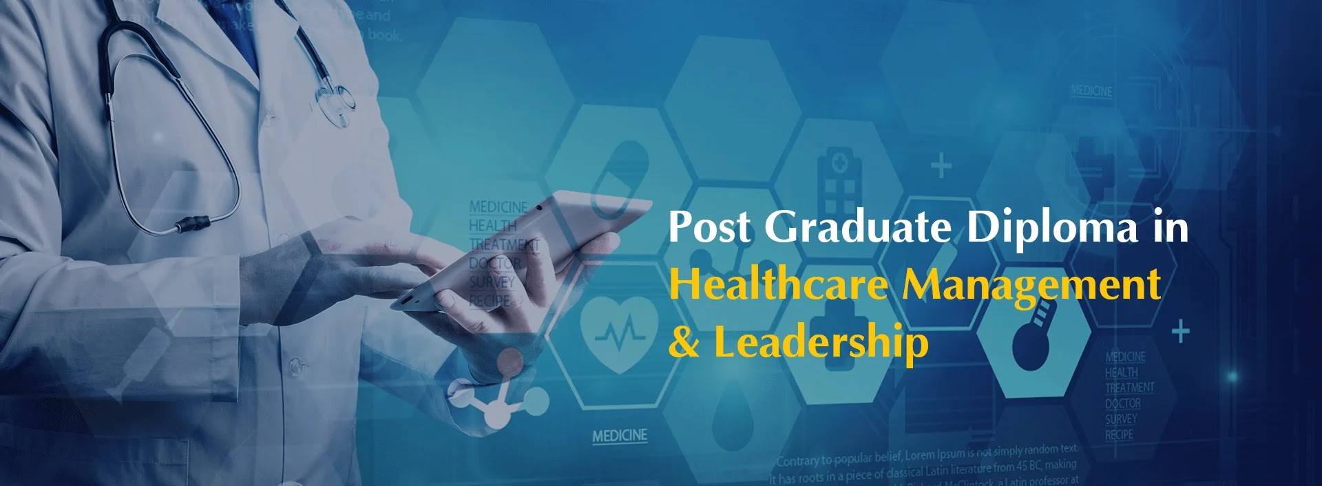 Best Post Graduate Diploma in Healthcare Management